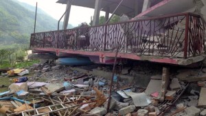 Church building that collapsed killing many people